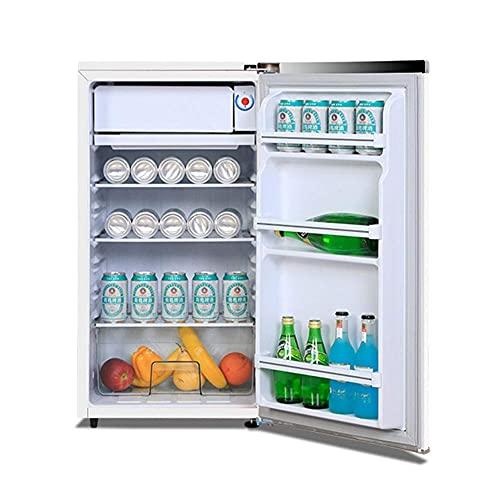 SHKUU 72L Independiente Debajo del mostrador Refrigerador Descongelación una tecla Temperatura Ajustable 8L Congelador Suave 64L Cámara fría Mini Baja energía Bajo Nivel Ruido 70cm