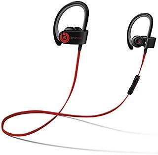 Beats by Dr dre Powerbeats2 Wireless In-Ear Bluetooth Headphone with Mic - Black (Renewed)