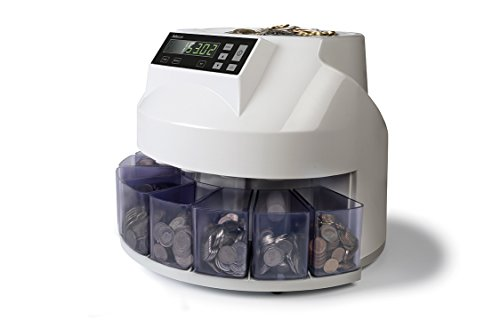 Safescan 1250CHF Compteuse trieuse de pièces automatique Devise CHF Compte et trie 220pièces par minute Gris