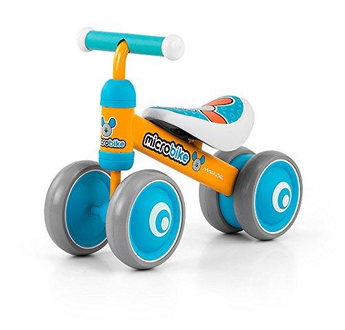 Micro porteur ultra léger (2 kg) et malléable avec roues six pouces disponible en 5 designs: Micro porteur Voiture pour enfants Bobbycar déjà adapté à partir de 18 mois, Thème:Mouse