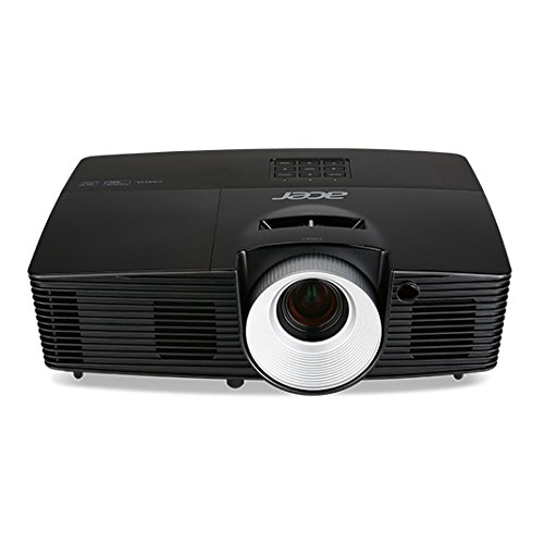 Acer P1387W - WXGA (1280 x 800), 17000:1, 16:10 (Native), 4:3 (Compatible), 16:9 (Compatible), 4500 lm