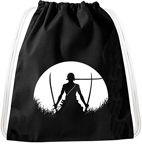 Sunrise Zorro Luffy Pirat Rucksack Tasche Turnbeutel Sport Jute Beutel Piratenbande