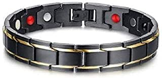 Medical Energy Bracelet with Germanium Stone and Magnet Magnetic Bracelet for Men