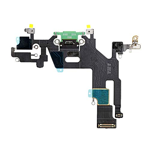 Best Shopper - Replacement Charging Charge Port Flex Cable Compatible with Apple iPhone 11 (A2111) - Green