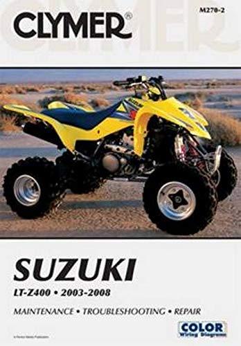 Clymer Suzuki Lt-Z400 2003-2008 (Clymer Motorcycle Repair)