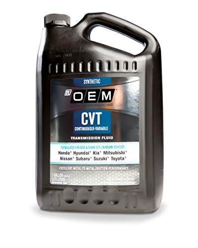 Adam's x Recochem OEM Synthetic CVT Automatic Transmission Fluid Asian Vehicles 1 Gallon Compatible with Honda, Hyundai, Kia, Mitsubishi, Nissan, Subaru, & Toyota