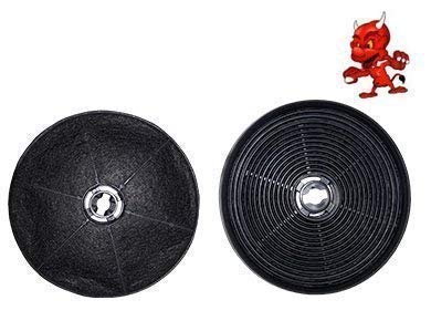 1 Aktivkohlefilter Kohlefilter Filter passend für Dunstabzugshaube PYRAMISES5 65099901