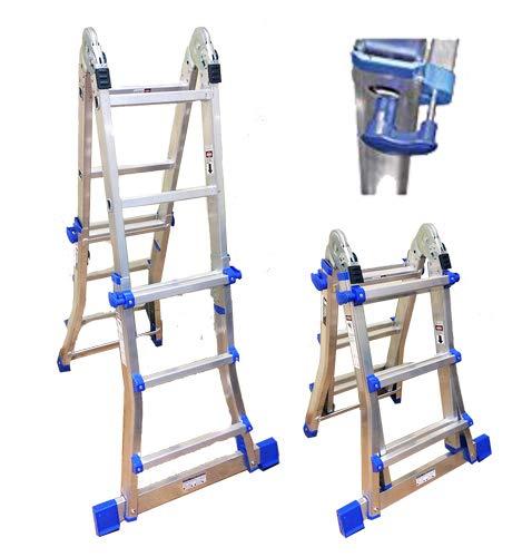 Teleskop-Leiter, System für verschiedene Kombinationen; 4x 3Sprossen | Stufen
