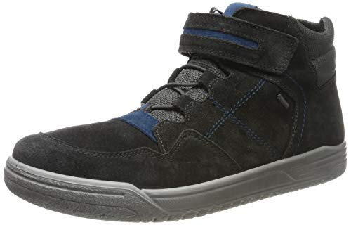 Superfit Jungen EARTH-509059 Hohe Sneaker, Grau (Grau/Blau 20), 36 EU