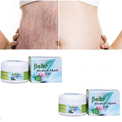 Bello Stretch Mark Gel Re-densifies And Firms Skin-Pack of 2