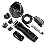 Andis Pulse Zr II 5-Speed Detachable Blade Clipper, Cordless, Removable Lithium Ion Battery - Black