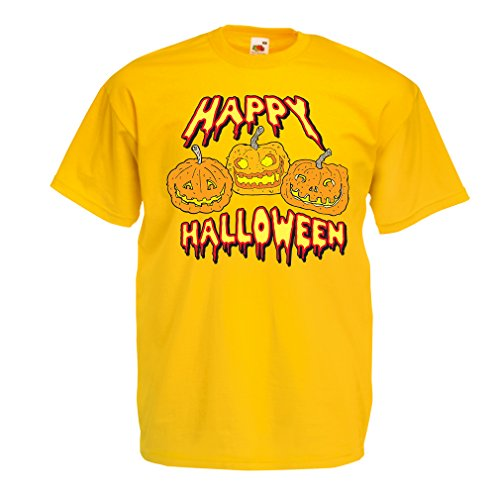 lepni.me Heren T-shirt Gelukkig Halloween! Feestartikelen & Kostuum - Cadeau-idee