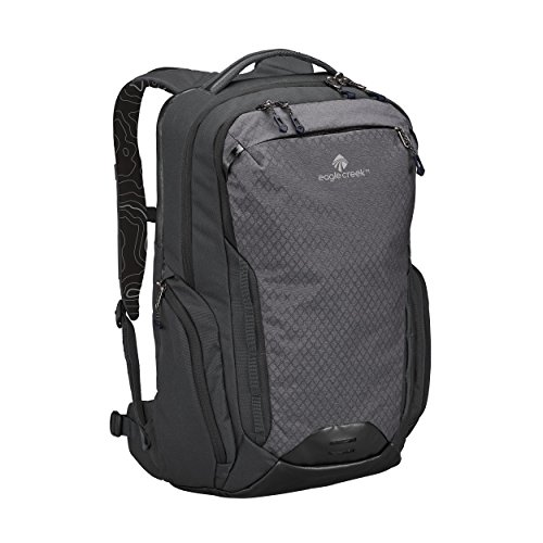 Eagle Creek Laptop Rucksack Wayfinder Backpack mit Rückensystem für Frauen, 40 L Rucksack, 53 cm, 40 Liter, Black/Charcoal