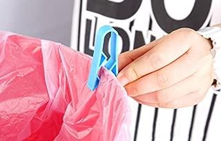 Lucyzkd Garbage Bin Clip Garbage Rubbish Bag Clip/,Anti-Slip Fixation Clip Holder. Garbage Rubbish Bag Clip,Anti-Slip Fixation Clip Holder 10PCS Trash Can Waste Basket Garbage Bin Clamp