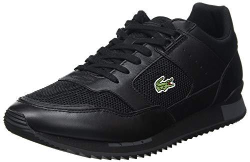 Lacoste Sport Herren Partner Piste 0721 1 SMA Sneaker, Blk Dk Gry, 39.5 EU
