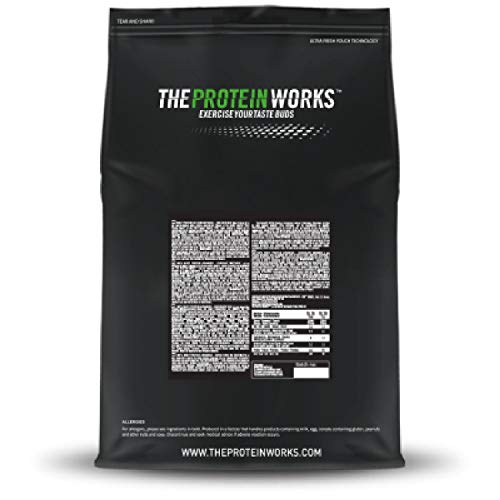 THE PROTEIN WORKS Pea Protein Isolate Protein Powder   100% Plant-Based & Natural   Gluten Free   No Added Sugar   Chocolate Silk   1 Kg