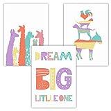 Pandawal Kinderzimmer Deko Junge und Mädchen Pastell