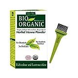 Indus Valley Bio Organic Herbal Henna Powder Rich Colour and Lustrous Shine