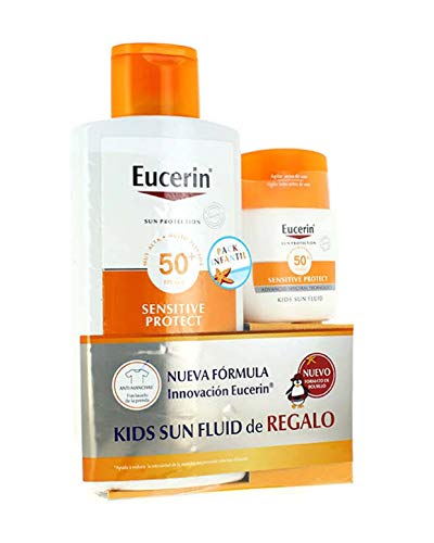 Eucerin kids Sun Lotion Sensitive Protect Spf50+ 400ml Set 2 Pieces 2018