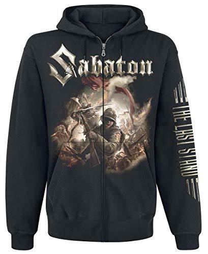 Sabaton The Last Stand Männer Kapuzenjacke schwarz L 80% Baumwolle, 20% Polyester Band-Merch, Bands