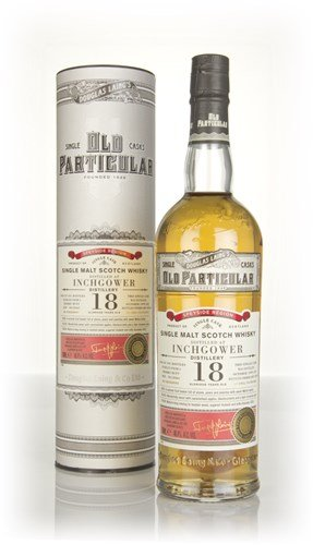 Douglas Laing Inchgower Old Particular Single Cask 18 Years Old mit Geschenkverpackung 1999 Whisky (1 x 0.7 l)