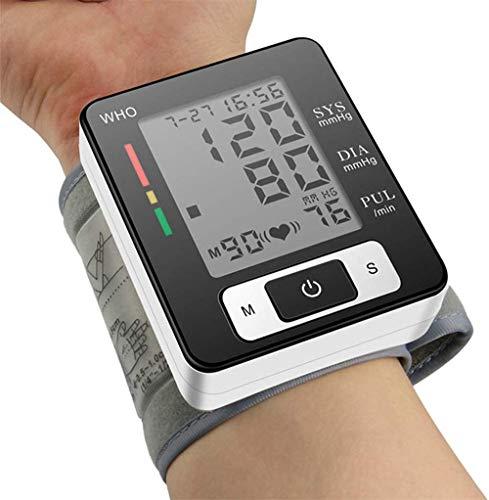 Máquinas de presión Arterial para Uso en el hogar, Grandes Indicadores LED, Esfigmomanómetro Detección de Latido Irregular del Manguito, Automático Pantalla Grande presión Arterial de muñeca
