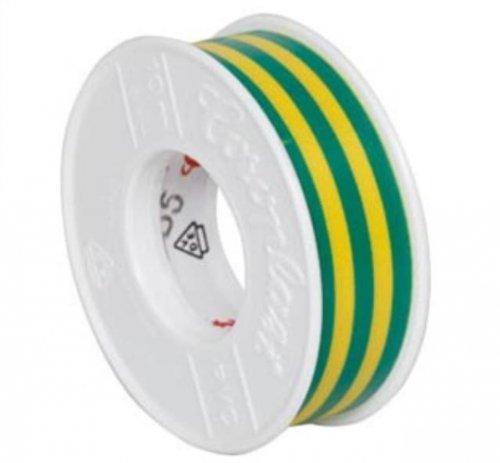 Isolierband, PVC, 10 m, grün/gelb, COROPLAST