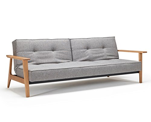 Innovation Splitback Frej Schlafsofa 521 Grey