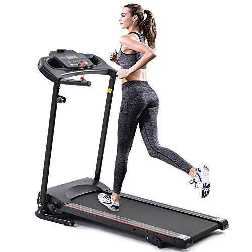 Treadmill for Home, Treadmill with Incline with 3 Manual inclines, Folding Electric Treadmill, Motorized Running Machine Treadmills for Home, with LCD, Easy Assembly