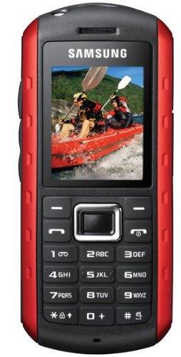 Samsung B2100 Niagara Handy (4,5 cm (1,7 Zoll) Display, Bluetooth, 1,3 Megapixel Kamera) rot