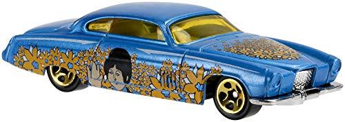 Hot Wheels DML69 The Beatles Yellow Submarine Car 1:64 Die-Cast Fahrzeug, je 1 Spielzeugauto, zufällige Auswahl, ab 3 Jahren
