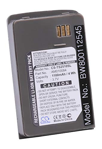 vhbw Li-Ion Akku 1100mAh (3.7V) für Satelliten Handy Handy Thuraya SO-2510, SO-2520, SO-3319 wie AM010084.