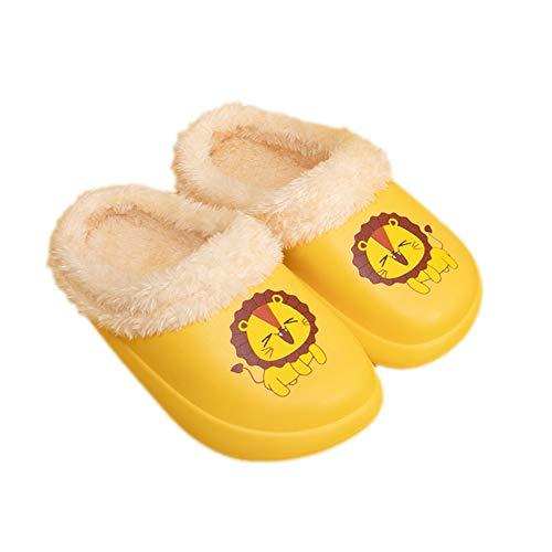 Guyarns Zapatillas de Estar por Casa para Niñas Niños Invierno Zapatillas de Interior Casa...