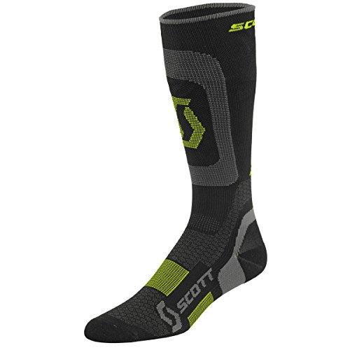 Scott Compression socks Black / Yellow Size : 45-47