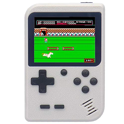 Come-buy Retro Game Console,Handheld Game Console with 400 Classical FC Games 2.8-Inch Color Screen Support for TV Output , Gift Birthday Christmas Presents