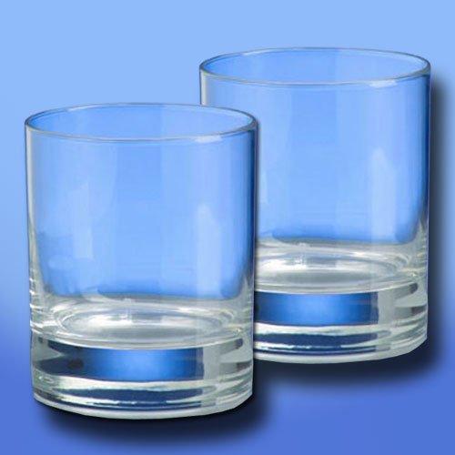 Unbekannt Whiskey Glas SAN Kunststoffglas, 2er-Set