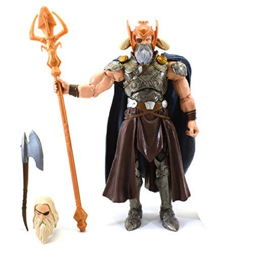 Modello di Statua Animelegends Allfather Odin Thor Action Figure Toy Figurals Collection Modello Regalo 16Cm