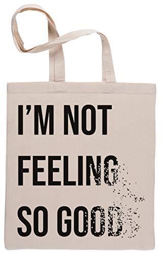 Not Feeling So Good Bolsa De Compras Shopping Bag Beige