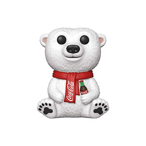 Funko- Pop Ad Icons Coca-Cola Polar Bear Juguete coleccionable, Multicolor (41732)