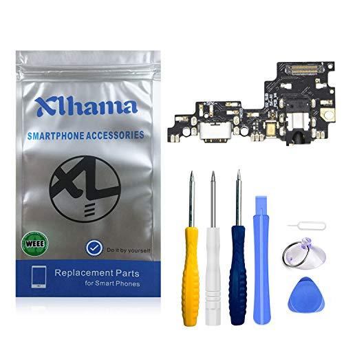 Xlhama Ricambio connettore dock ricarica USB tipo C 1.0 compatibile con Xiaomi Mi A1 Incl collegamento microfono e altoparlante