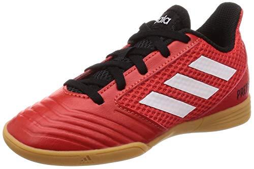 adidas Unisex-Kinder Predator Tango 18.4 Sala Futsalschuhe, Rot (Rojo/Ftwbla/Negbás 001), 28 EU