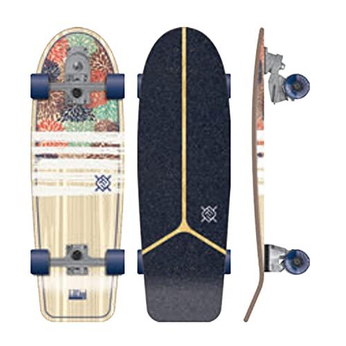 Flying Wheels Surf Skateboard 30 IZU Hydrangea surfskate