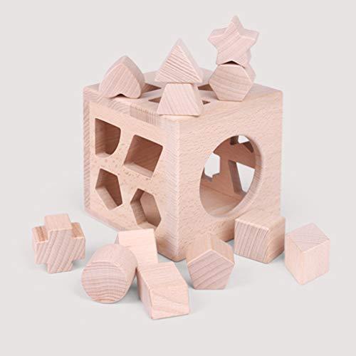 kids toys Jeux de Construction pour Enfants Jouets éducatifs Jouets en Bois Jouets Assortis pour Enfants de Plus de 12 Mois Jouets pour Le développement de l'intelligence