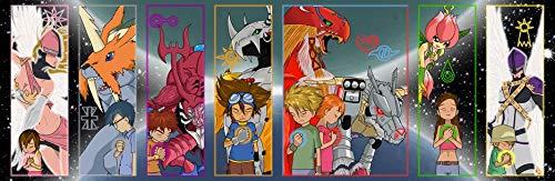 JUNLIZHU Digimon Adventure Bokura no War Game (107cm x 35cm | 43inch x 14inch) Silk Print Poster Silk Printing / 516FC5
