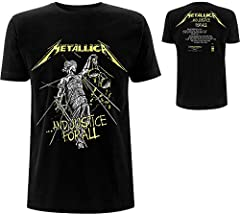 Metallica ...and Justice For All - Tracklist Hombre Camiseta