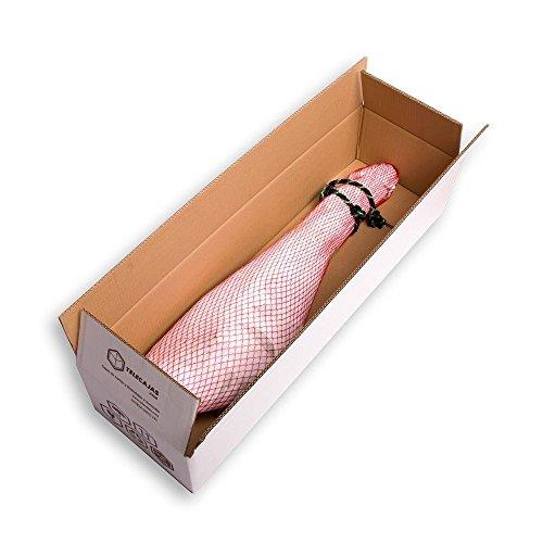(10x) Cajas Jamoneras de Cartón para Jamones y Paletillas: (85x25x16.3 cms). Lote de 10 Cajas. Cartón Reforzado Doble | TeleCajas.com