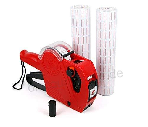 Discountoase Preisauszeichner MX-5500 EOS Professional Spar-Set Etiketten Weiß inkl. 1 Rolle Sonderpreis-Etiketten