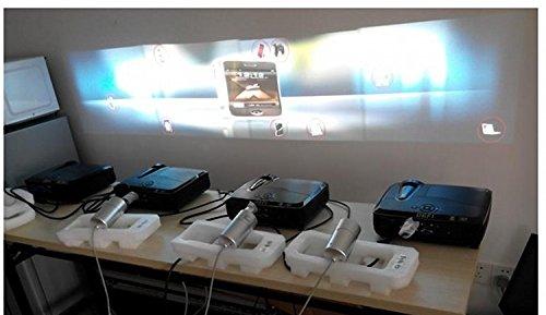 GOWE 4 Scherm Interactief Vloersysteem Ondersteuning 4 projectoren Inclusief Edge Blending Instelling 12 Effecten