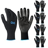 5 Pack Gorilla Grip Gloves - Large