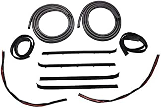 Door And Window Run Channel Sweep Felt Seal Kit for 73-80 GMC Chevy Pickup Truck